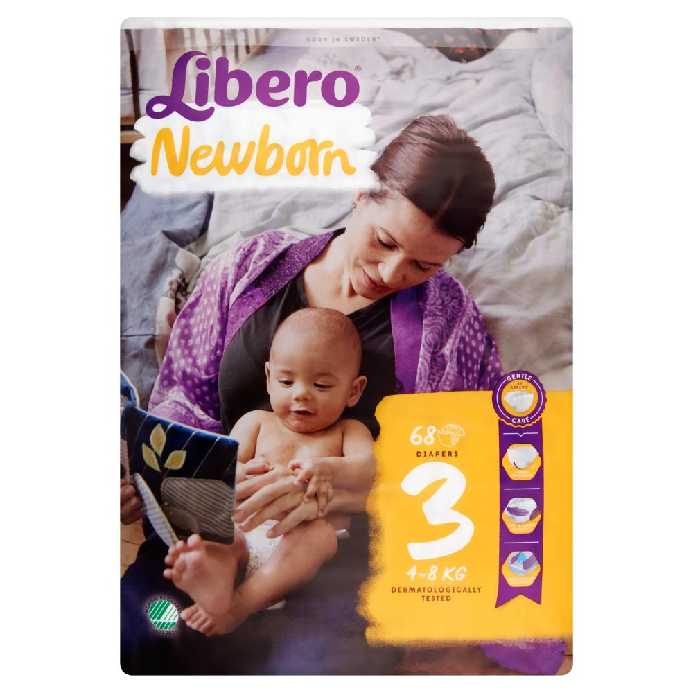 Libero New born Jumbo 4-8 kg. (3 ) 68 db.